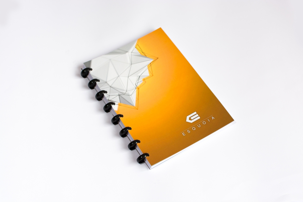 Reusable notebook A5 ESQUOIA