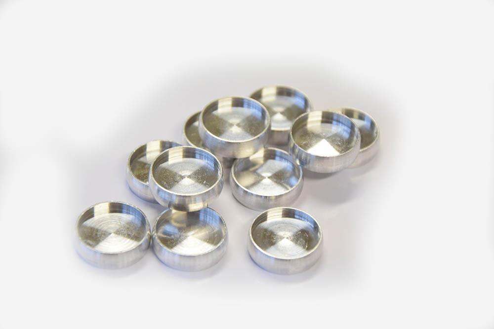 Alluminium disc binding