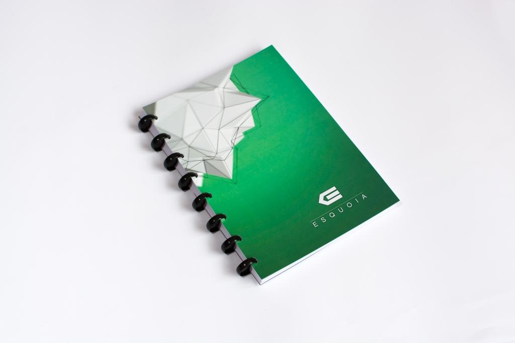 Whiteboar notebook A5 ESQUOIA