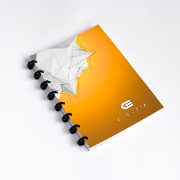 Reusable notebook A5 ESQUOIA