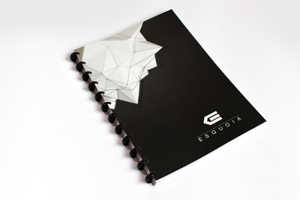 Whiteboard notebook ESQUOIA Classic A4
