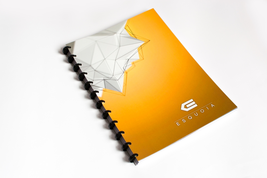 Reusable notebook ESQUOIA Classic A4