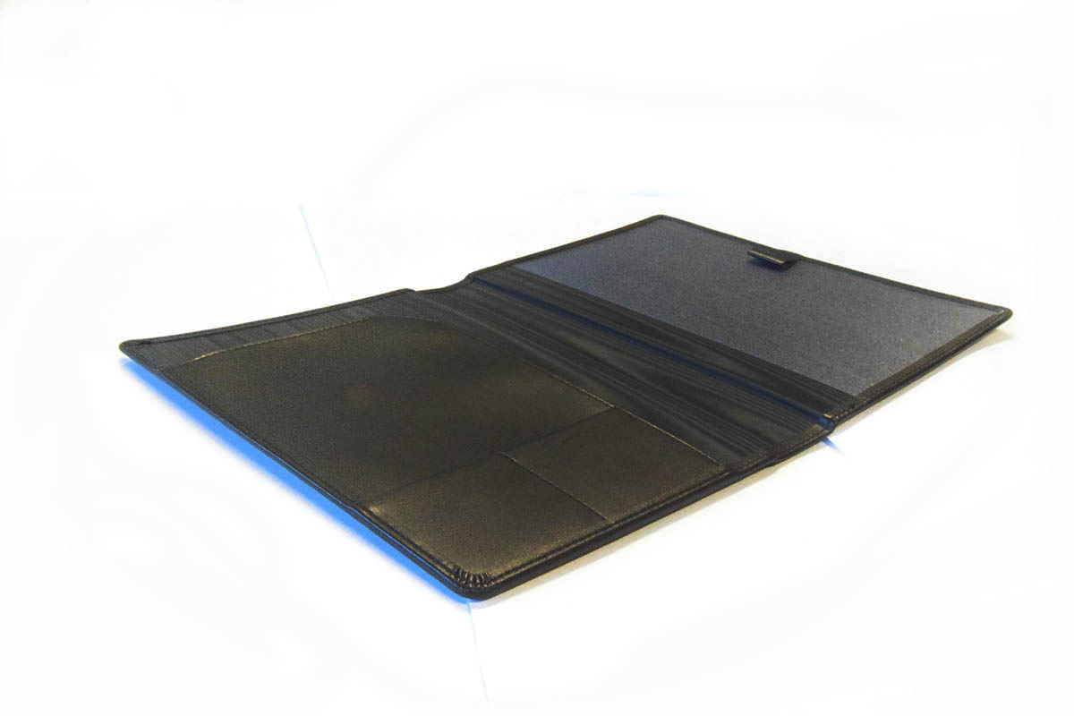Leather like whiteboard notebook cover 2