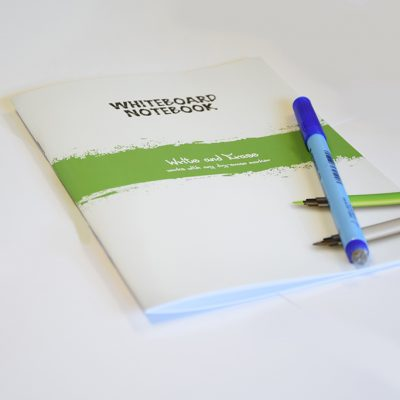 Simple Whiteboard notebook