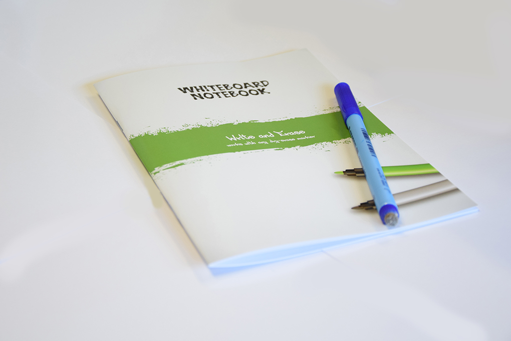 Simple Whiteboard notebook ESQUOIA